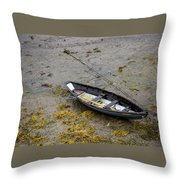 Waiting For The Tide Throw Pillow