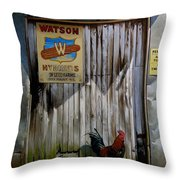 Waiting For Watson 2 Throw Pillow