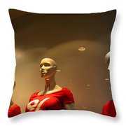 Waiting For You Scott Throw Pillow