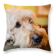 Waiting Is Hard Work Throw Pillow