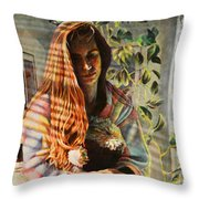 In Weight Throw Pillow