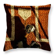 Waiting On An Arrival Throw Pillow