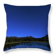 Waiting On Meteors Throw Pillow