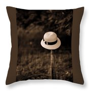 Waiting On You To Come Home Throw Pillow