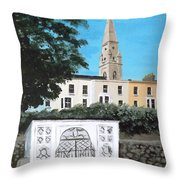 Waiting Room, Dun Laoghaire Throw Pillow