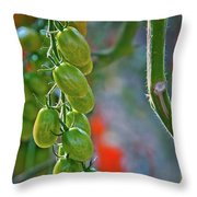 Waiting To Be Devoured Throw Pillow