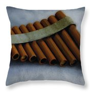 Waiting To Be Played Throw Pillow