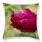 Waiting To Bloom Throw Pillow