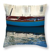 Waiting To Go Fishing Throw Pillow