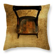 Waiting To Say Goodbye  Throw Pillow