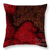 Waiting With Love Throw Pillow
