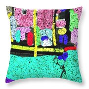 Waiting Womb II Throw Pillow