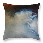 Waives Throw Pillow