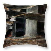 Wakeup Call Throw Pillow