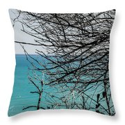 Waking Up Throw Pillow