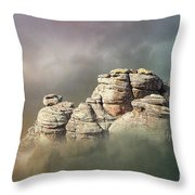 Waking Up In A Cloud Throw Pillow