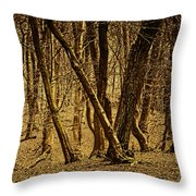 Wald Forest Throw Pillow