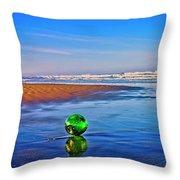 Waldport Oregon - Float The Ocean Throw Pillow