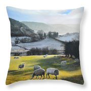 Wales. Throw Pillow