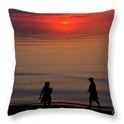 Walk Back To The Bend 2 Throw Pillow