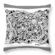 Walk Off Throw Pillow