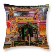 Walk The Plank Throw Pillow