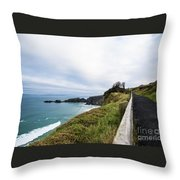 Walk To The End Of The Earth  Throw Pillow