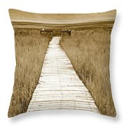Walk With Me 1 Throw Pillow