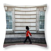 Walkabout In London Throw Pillow