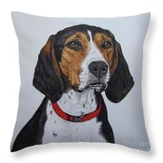 Walker Coonhound - Cooper Throw Pillow