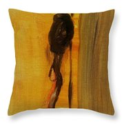 Walking Stick And Hat Throw Pillow