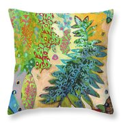 Walking With The Forest Spirits Part 2 Throw Pillow