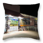 Walkway To The Past Throw Pillow