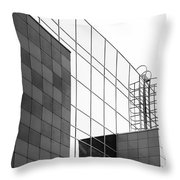 Wall #9170 Throw Pillow