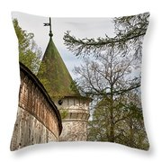 Wall And Tower Throw Pillow