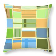 We Are Connected  Throw Pillow