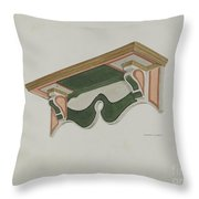 Wall Bracket (ecclesiastical) Throw Pillow