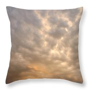 Wall Cloud Throw Pillow