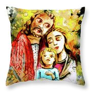 Wall Icon In Malta 06 Bis Throw Pillow