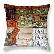 Wall Of Wyoming  Throw Pillow
