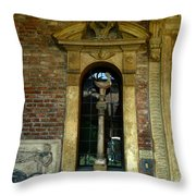 Wall Shrine Throw Pillow
