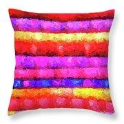 Wallart-multicolor Design Throw Pillow