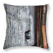 Walled Pipes Throw Pillow