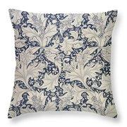 'wallflower' Design  Throw Pillow