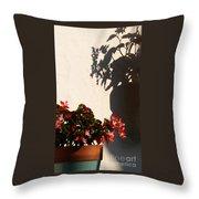 Wallflower Throw Pillow