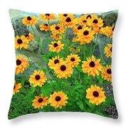 Wallflowers Throw Pillow
