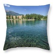 Wallowa Lake No.3 Throw Pillow