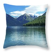 Wallowa Lake Oregon Throw Pillow
