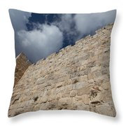 Walls Of Jerusalem Throw Pillow