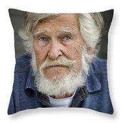 Wally O. Throw Pillow